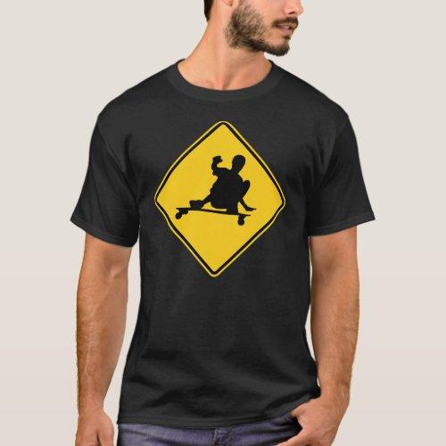 longboarding sign T_Shirt