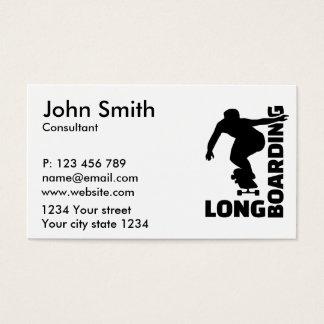 Longboarding Tarjetas De Visita