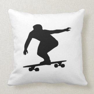 Longboarding Throw Pillow