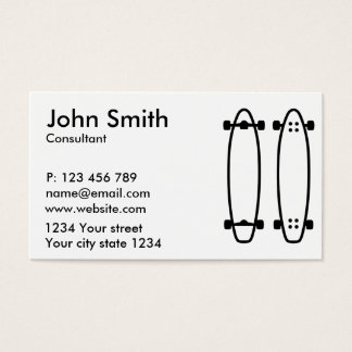 Longboards Business Card