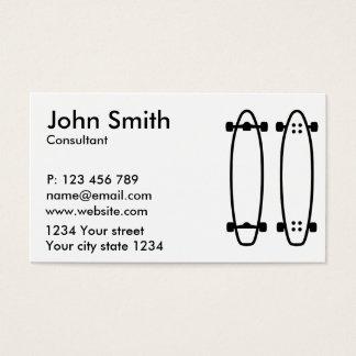 Longboards Tarjetas De Visita