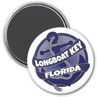 Longboat Key Florida anchor swirl magnet