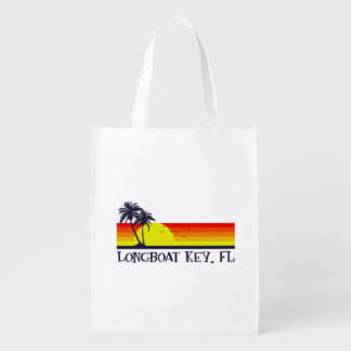 Longboat Key Florida Reusable Grocery Bag