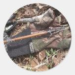 longbow turkey hunt classic round sticker