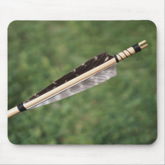 Longbow Wood Arrow Mousemat Mouse Pad