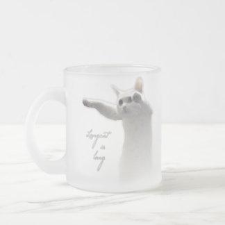 Longcat subido taza de café