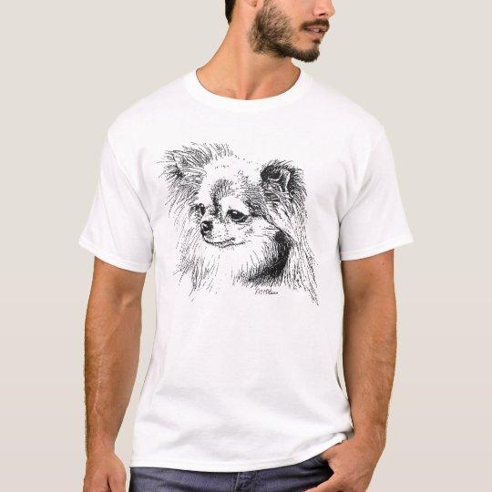 Longcoat chihuahua T-Shirt