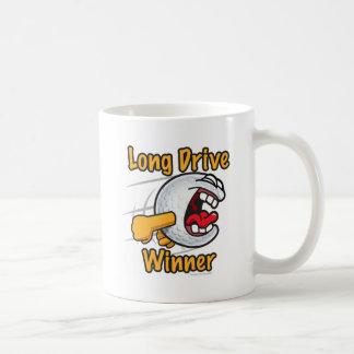 Longest Drive Winner Hole Prize Golf Tournament Classic White Coffee Mug