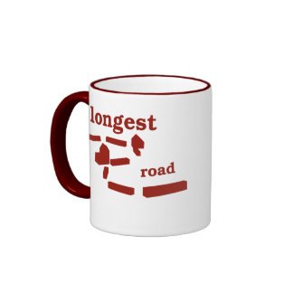 Longest Road Mug - Red