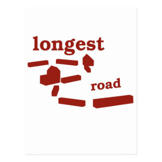 Longest Road! Postcard