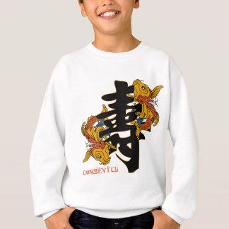 Longevidad de los pescados de Koi del kanji Remeras