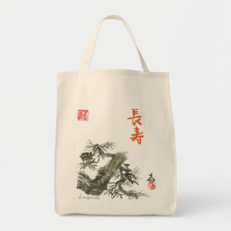 """Longevity"" Grocery Tote Bag"