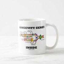 Longevity Genes Inside (DNA Replication) Coffee Mugs