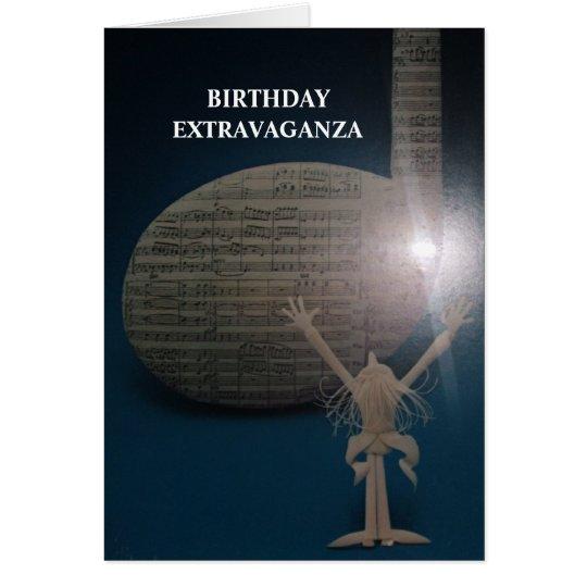 LONGEVITY GREETING CARDS BIRTHDAY EXTRAVAGANZA