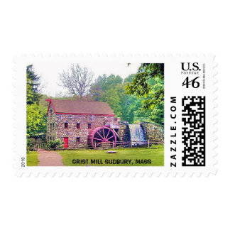 LONGFELLOW S WAYSIDE GRIST MILL POSTAGE STAMPS