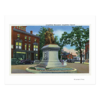 Longfellow Square View of the Longfellow Postcard