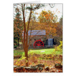 LONGFELLOW'S WAYSIDE GRIST MILL GREETING CARDS