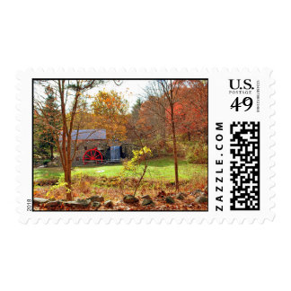 LONGFELLOW'S WAYSIDE GRIST MILL POSTAGE STAMPS