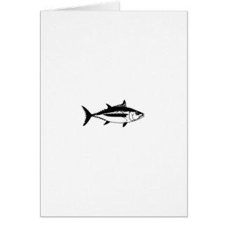 Longfin Albacore Tuna Logo Card
