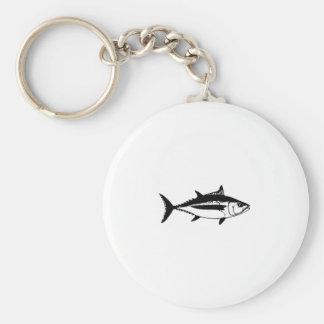 Longfin Albacore Tuna Logo Keychain