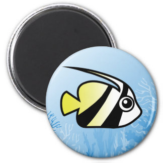 Longfin Bannerfish Magnet