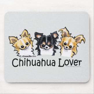 Longhair Chihuahua Lover Mouse Pad