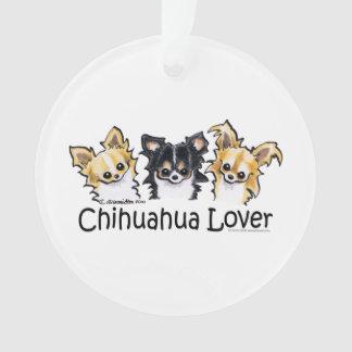 Longhair Chihuahua Lover Ornament