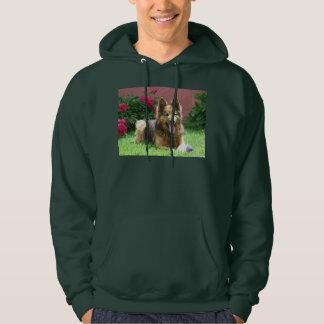 Longhair German Shepherd Hoodie