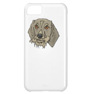Longhaired Dachshund Case For iPhone 5C