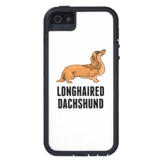 Longhaired Dachshund Cover For iPhone 5/5S