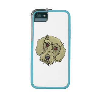 Longhaired Dachshund iPhone 5/5S Covers