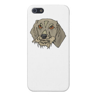 Longhaired Dachshund Cover For iPhone 5