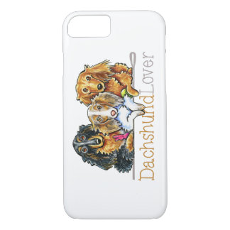 Longhaired Dachshund Lover iPhone 7 Case
