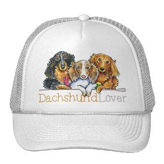 Longhaired Dachshund Lover Trucker Hat