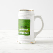 Longhaired LongHorn with Long Horns Beer Stein