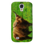 Longhaired LongHorn with Long Horns Samsung Galaxy S4 Covers