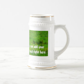 Longhaired LongHorn with Long Horns Coffee Mug