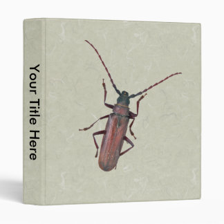 Longhorn Beetle Coordinating Items Binder