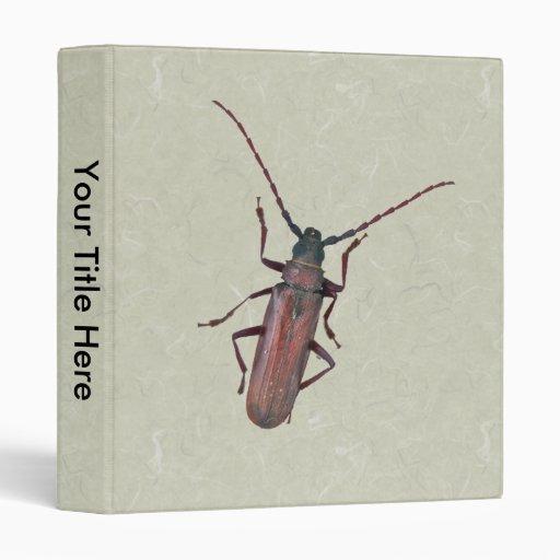 Longhorn Beetle Coordinating Items Binder