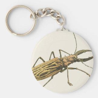 Longhorn Beetle Keychain
