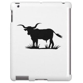 Longhorn Bull Silhouette