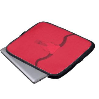 Longhorn bull skull laptop sleeve