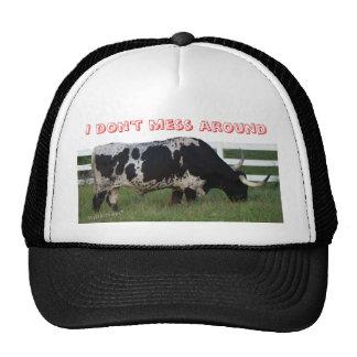Longhorn Cap-customize Trucker Hat
