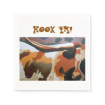 LONGHORN COW PARTY NAPKINS