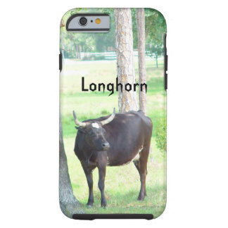 Longhorn Cow Trees iPhone 6 Case