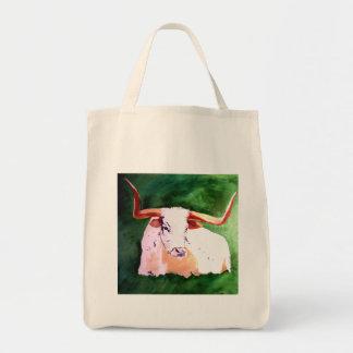 Longhorn Grocery Bag