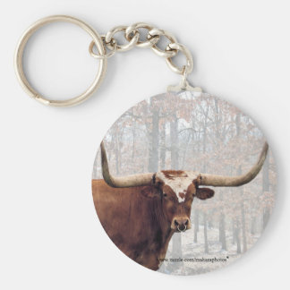 Longhorn keychain-customize keychain