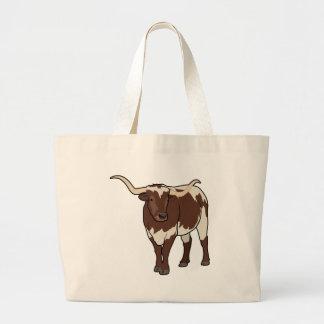 Longhorn Large Tote Bag