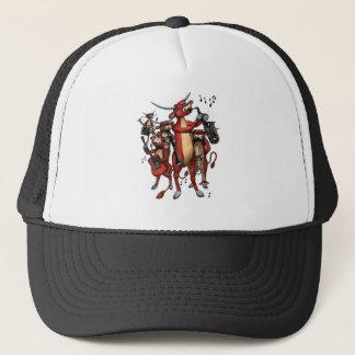 longhorn moosic trucker hat