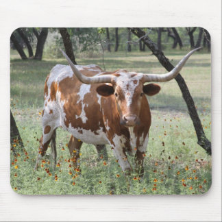 Longhorn Mouse Pad